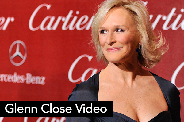 <font size=6>Glenn Close Tribute</font><BR>Interviews with Michael Douglas and Robert Redford were included in this tribute to award winning actress Glenn Close. NBC's Brian Williams provided the narration.