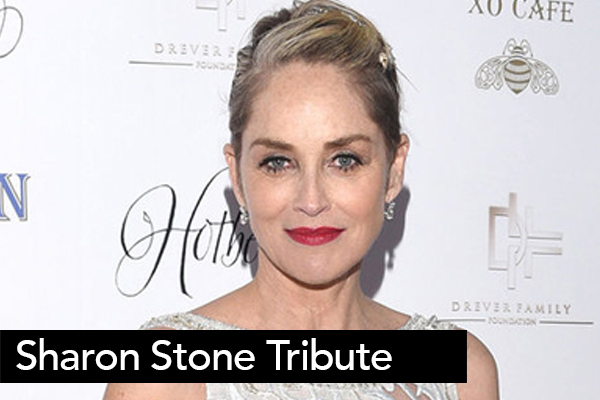 <font size=6>Sharon Stone Tribute</font><BR>This video was produced to honor Sharon Stone's film and television career, as well as the work she does for various charities.